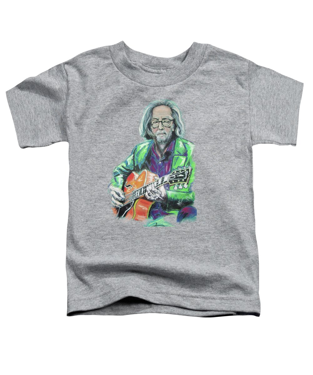 Eric Clapton Toddler T-Shirts