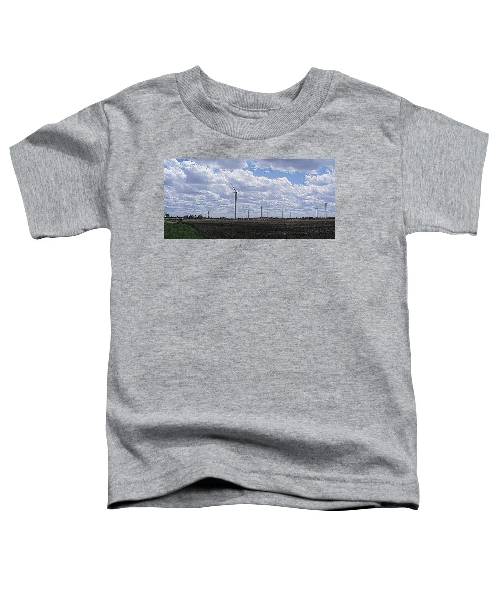 Wind Toddler T-Shirt featuring the photograph Etched In Stone by Ed Smith