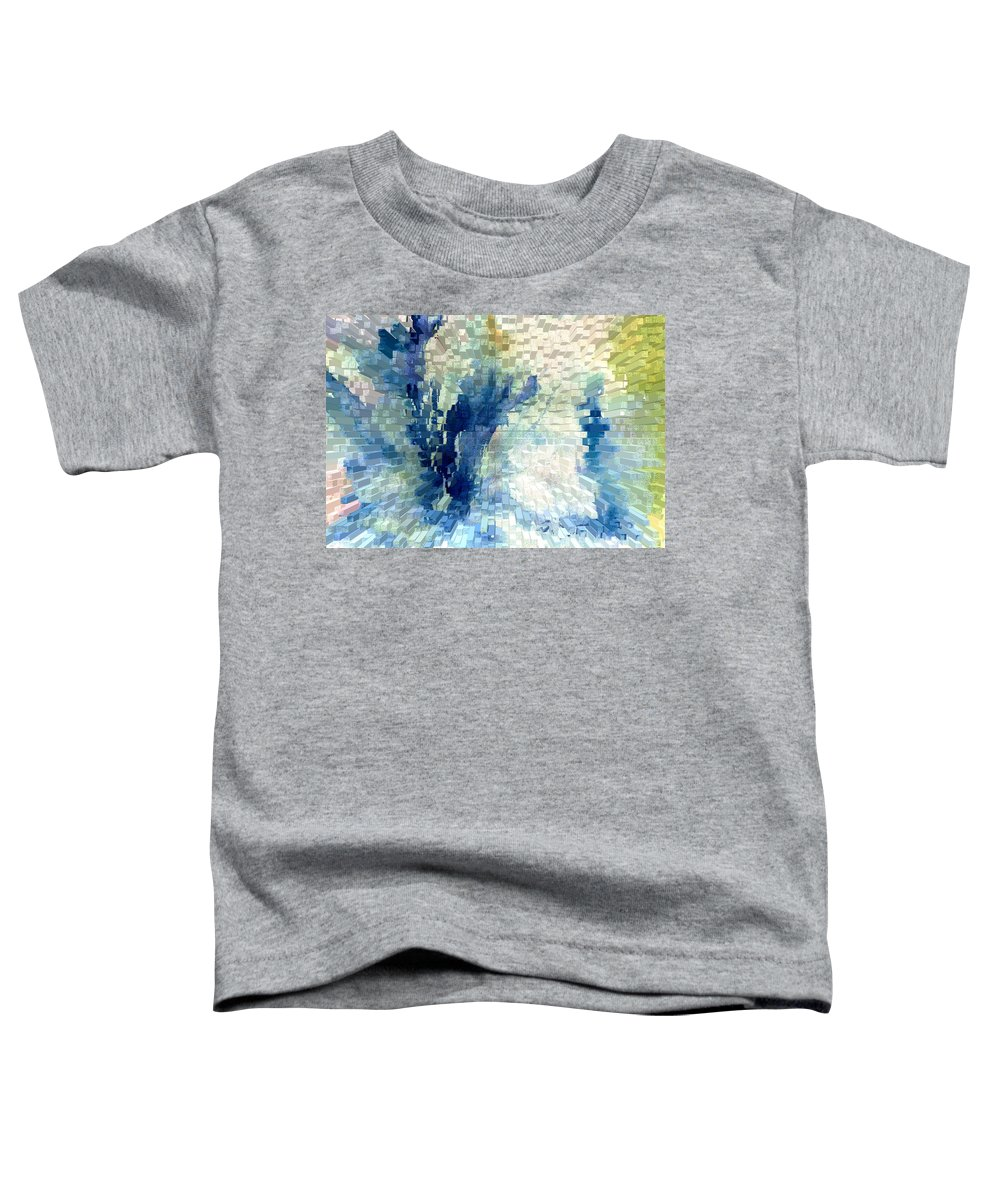 Abstract Toddler T-Shirt featuring the painting Extrude by Steve Karol