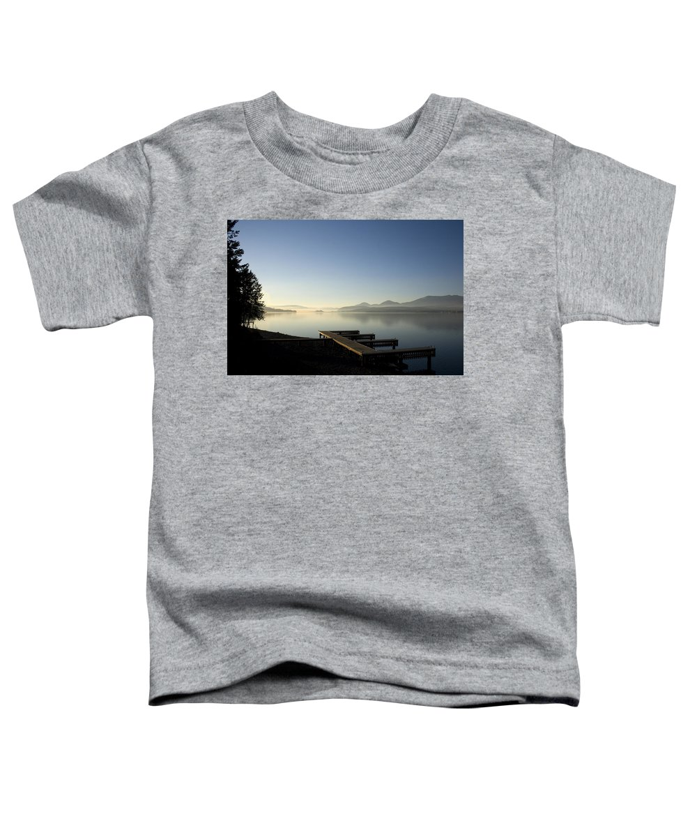 Landscape Toddler T-Shirt featuring the photograph Fall Evening by Lee Santa