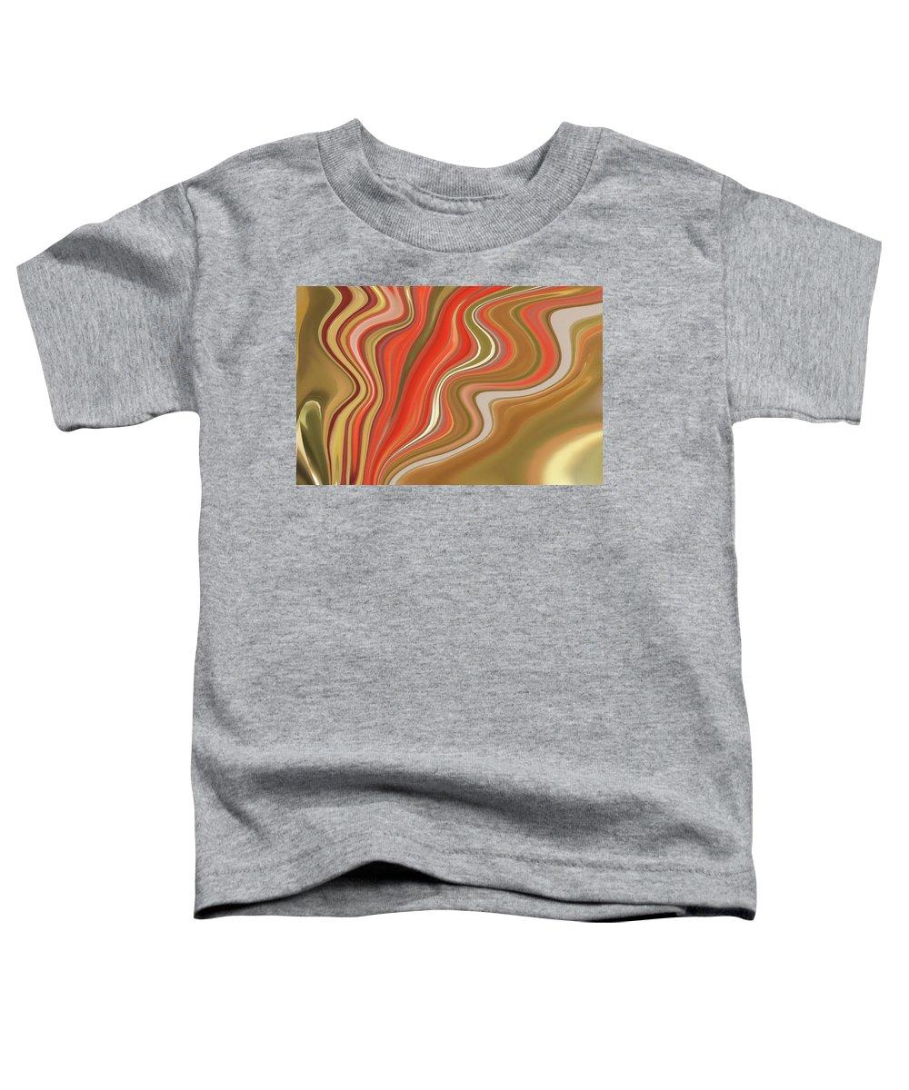 Art Toddler T-Shirt featuring the digital art Flow by Art Spectrum