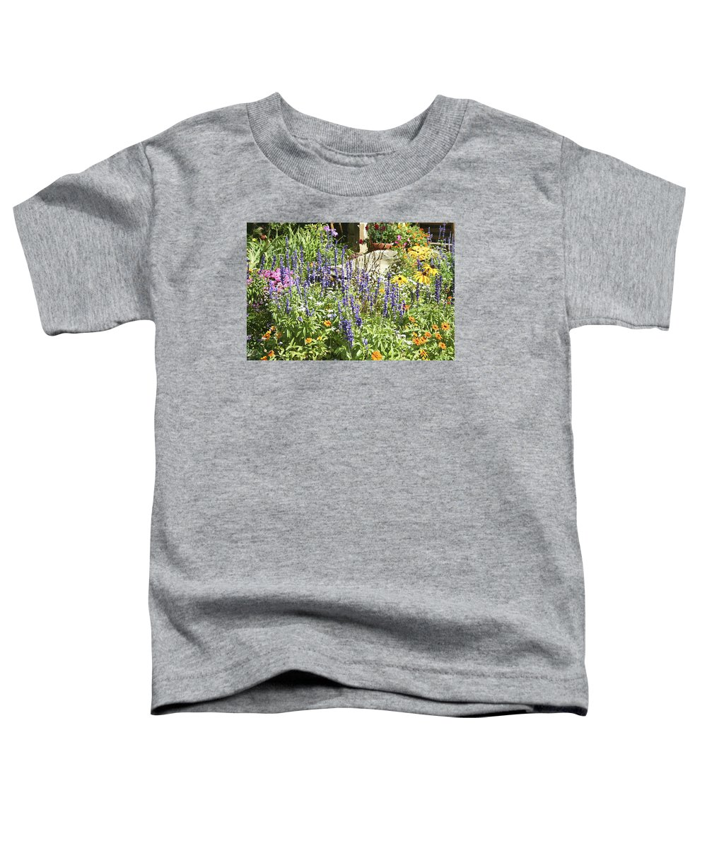 Flower Toddler T-Shirt featuring the photograph Flower Garden by Margie Wildblood