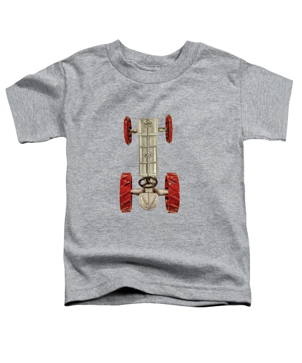 Antique Toddler T-Shirt featuring the photograph Fordson Tractor Top by YoPedro