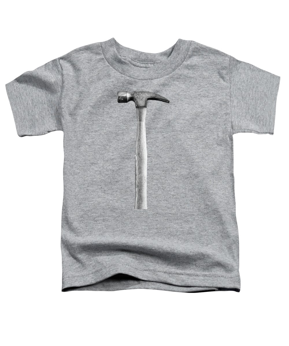 Art Toddler T-Shirt featuring the photograph Framing Hammer L by YoPedro