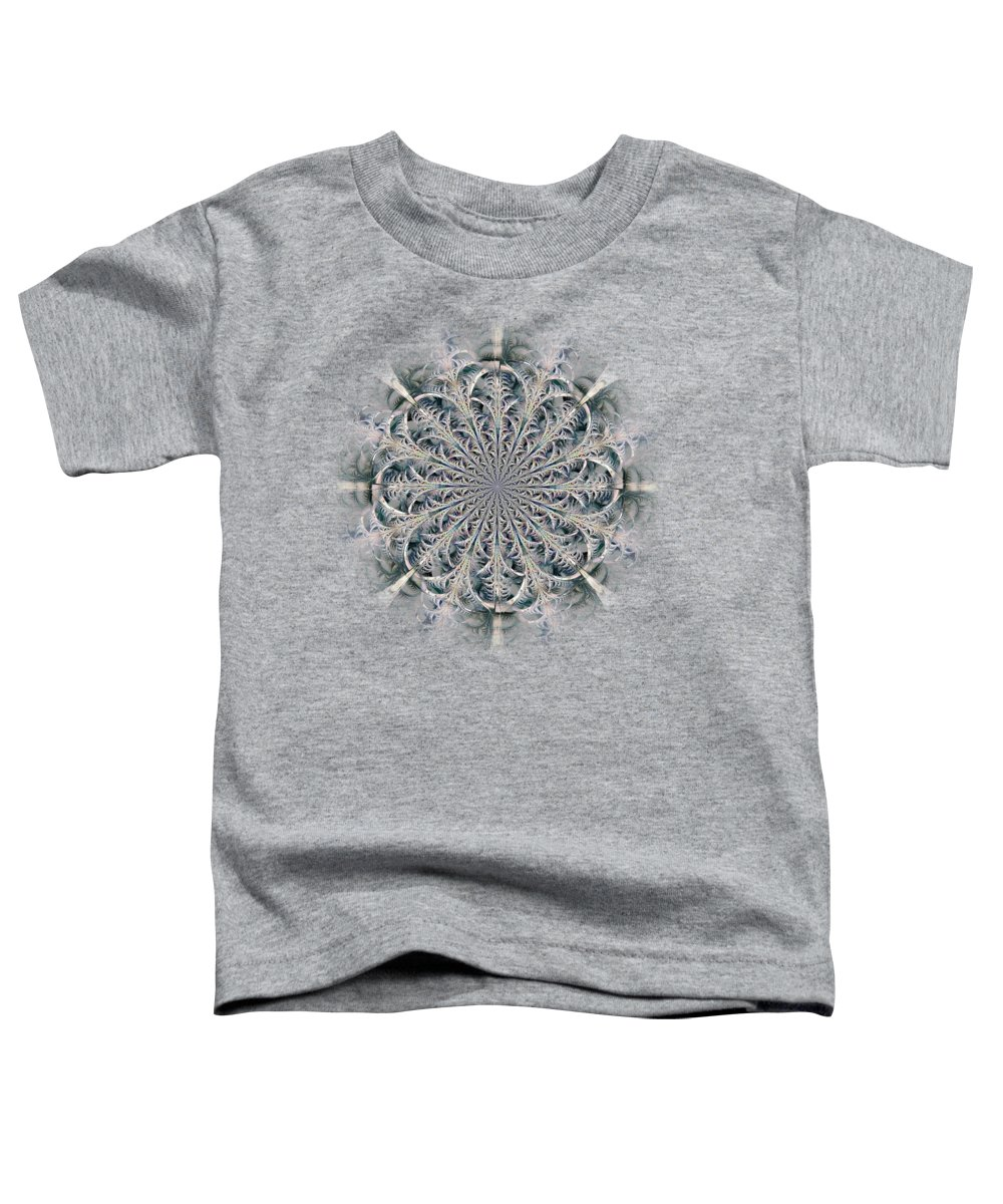 Computer Toddler T-Shirt featuring the digital art Frost Seal by Anastasiya Malakhova