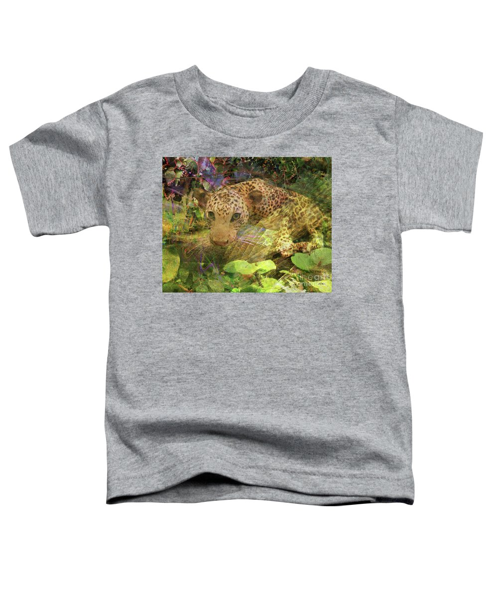 Game Spotting Toddler T-Shirt featuring the digital art Game Spotting by John Beck