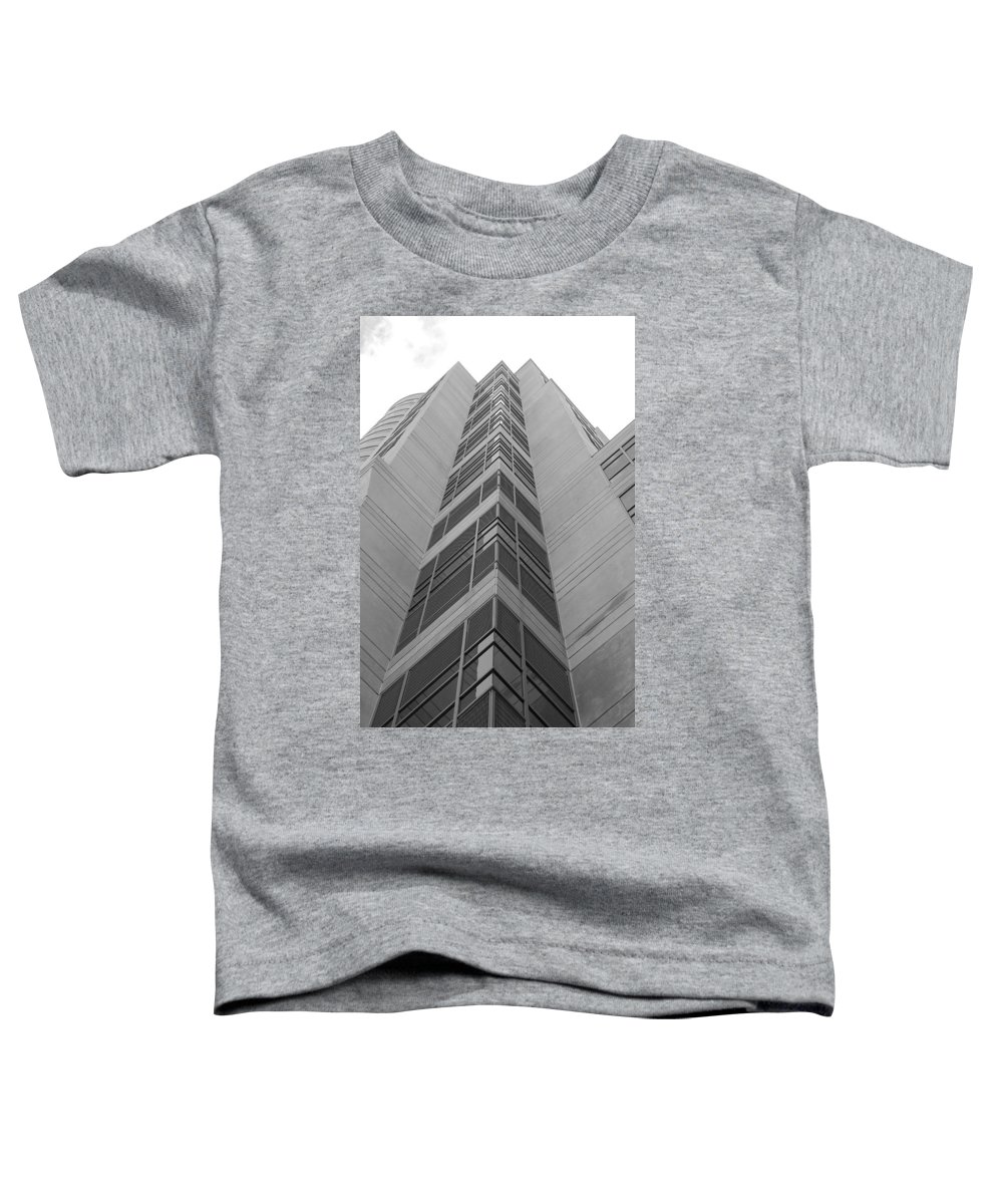 Architecture Toddler T-Shirt featuring the photograph Glass Tower by Rob Hans