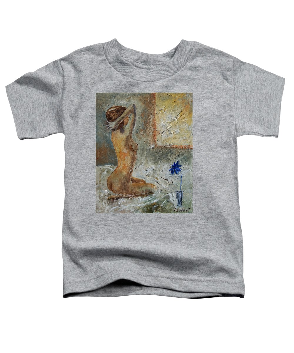 Nude Toddler T-Shirt featuring the painting Good Morning Sunshine by Pol Ledent