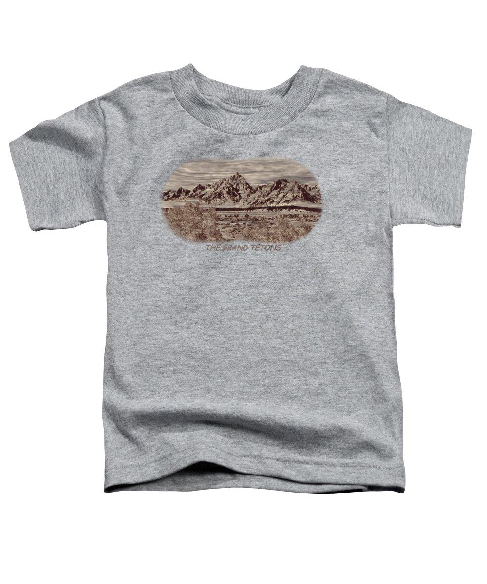 Teton Range Toddler T-Shirts