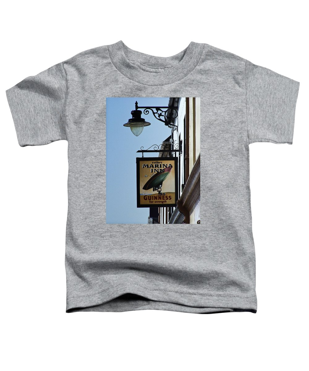 Irish Toddler T-Shirt featuring the photograph Guinness For Strength Dingle Ireland by Teresa Mucha