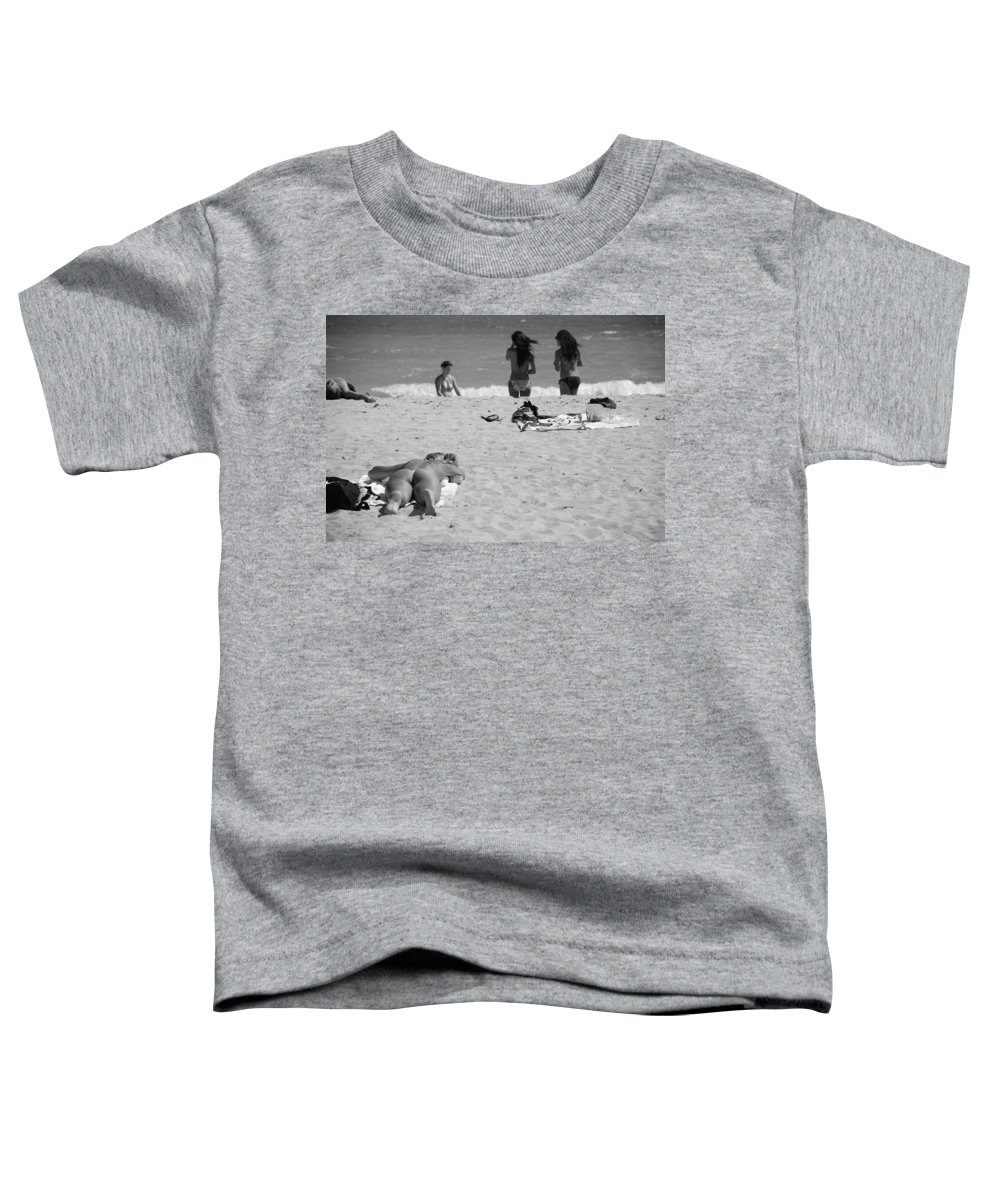Miami Toddler T-Shirt featuring the photograph Half Dead Half Alive by Rob Hans