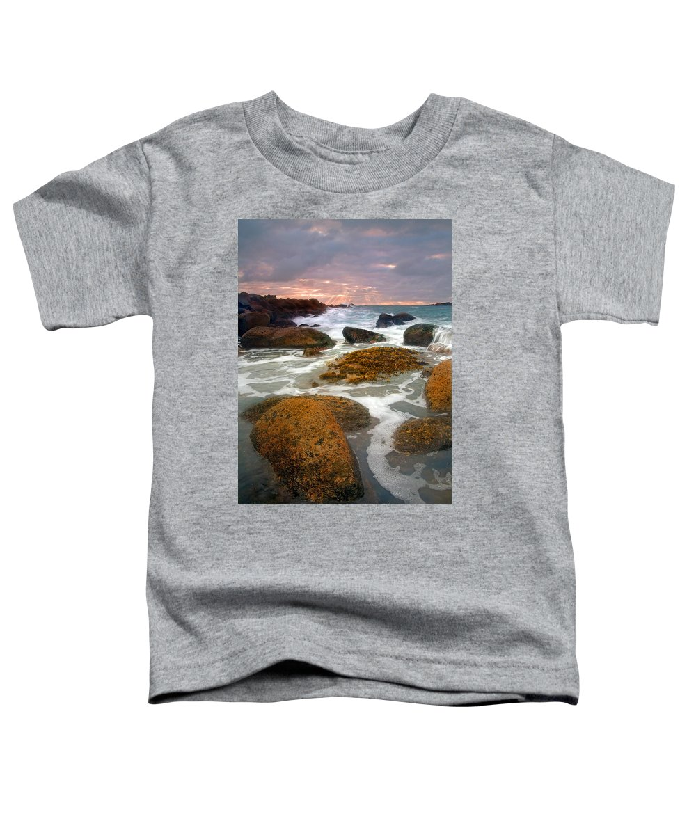 Sunrise Toddler T-Shirt featuring the photograph Heavenly Dawning by Mike Dawson