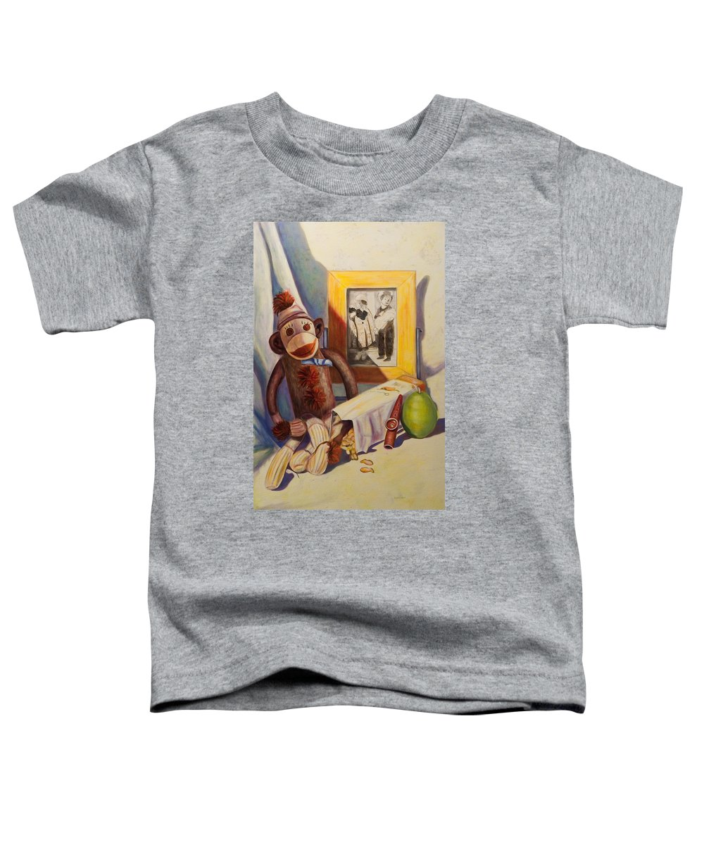 Children Toddler T-Shirt featuring the painting I Will Remember You by Shannon Grissom
