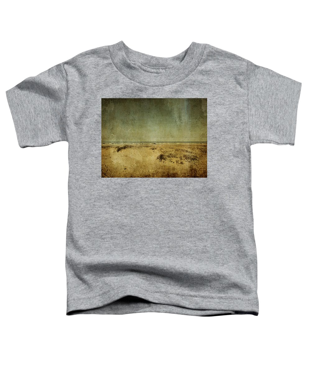 Beach Toddler T-Shirt featuring the photograph I Wore Your Shirt by Dana DiPasquale