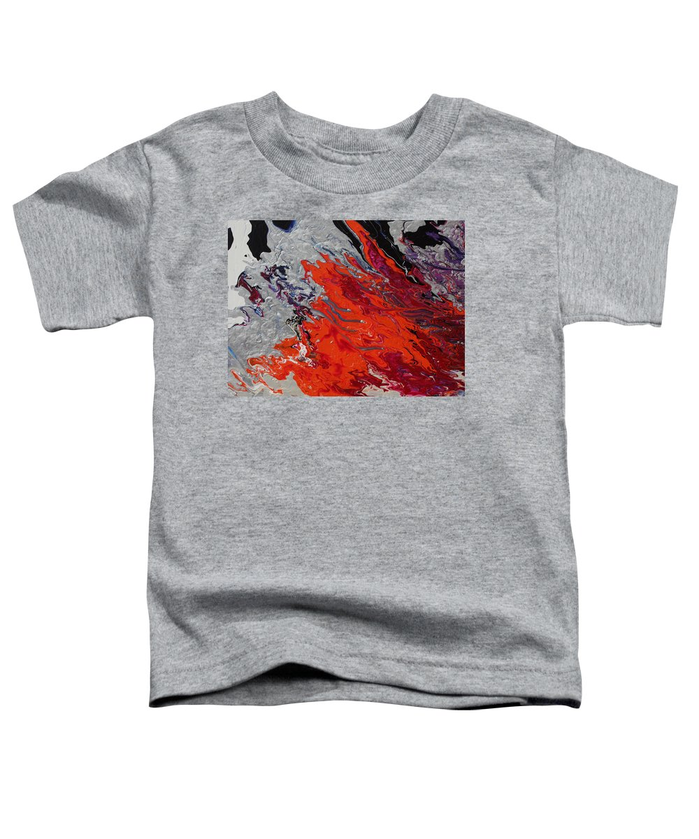 Fusionart Toddler T-Shirt featuring the painting Ignition by Ralph White