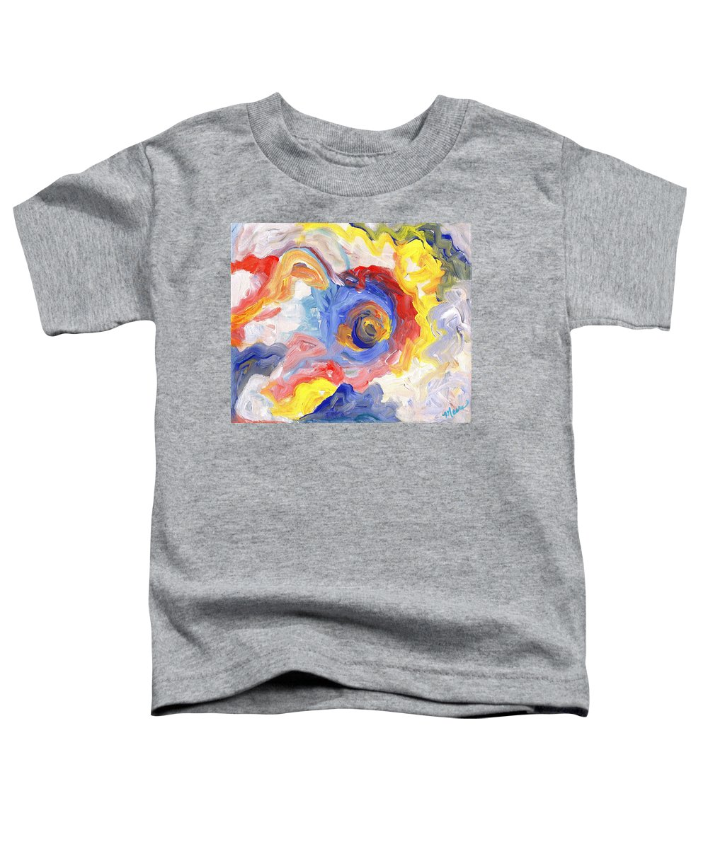 Contemporary Toddler T-Shirt featuring the digital art Impulse Projected by Linda Mears