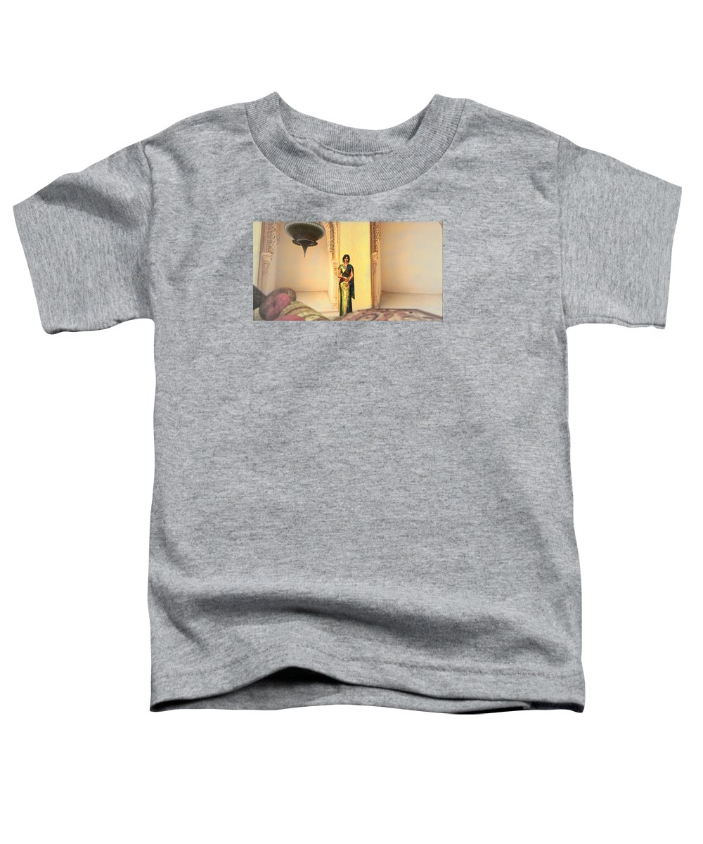 India Toddler T-Shirt featuring the digital art In India 2 by Brainwave Pictures