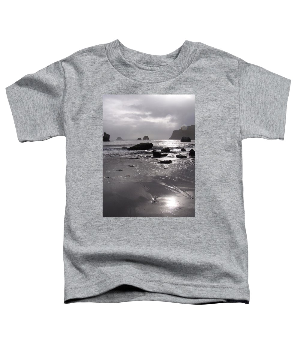 Beach Toddler T-Shirt featuring the photograph Indian Beach by Gale Cochran-Smith