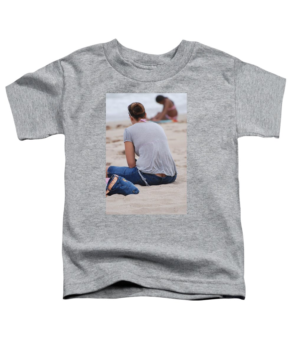 Girl Toddler T-Shirt featuring the photograph Indiana Girl by Rob Hans