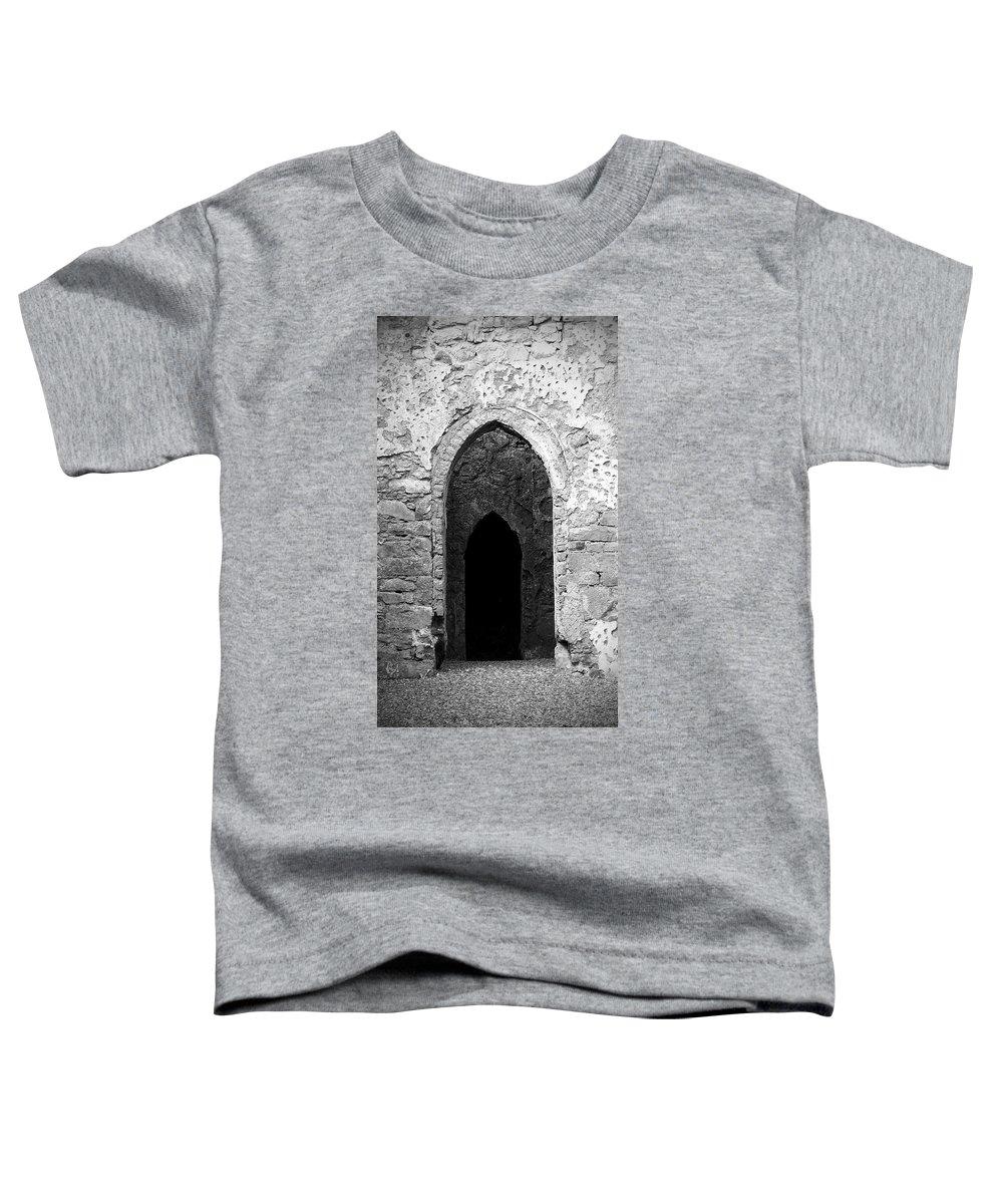Ireland Toddler T-Shirt featuring the photograph Inner Sanctum Fuerty Church Roscommon Ireland by Teresa Mucha