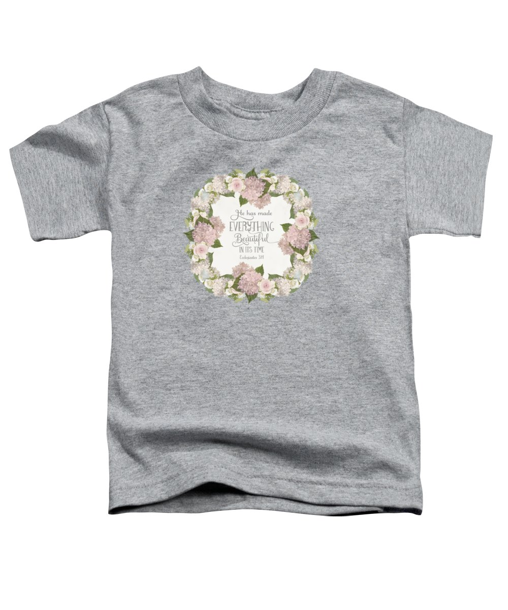Cosmetic Toddler T-Shirts