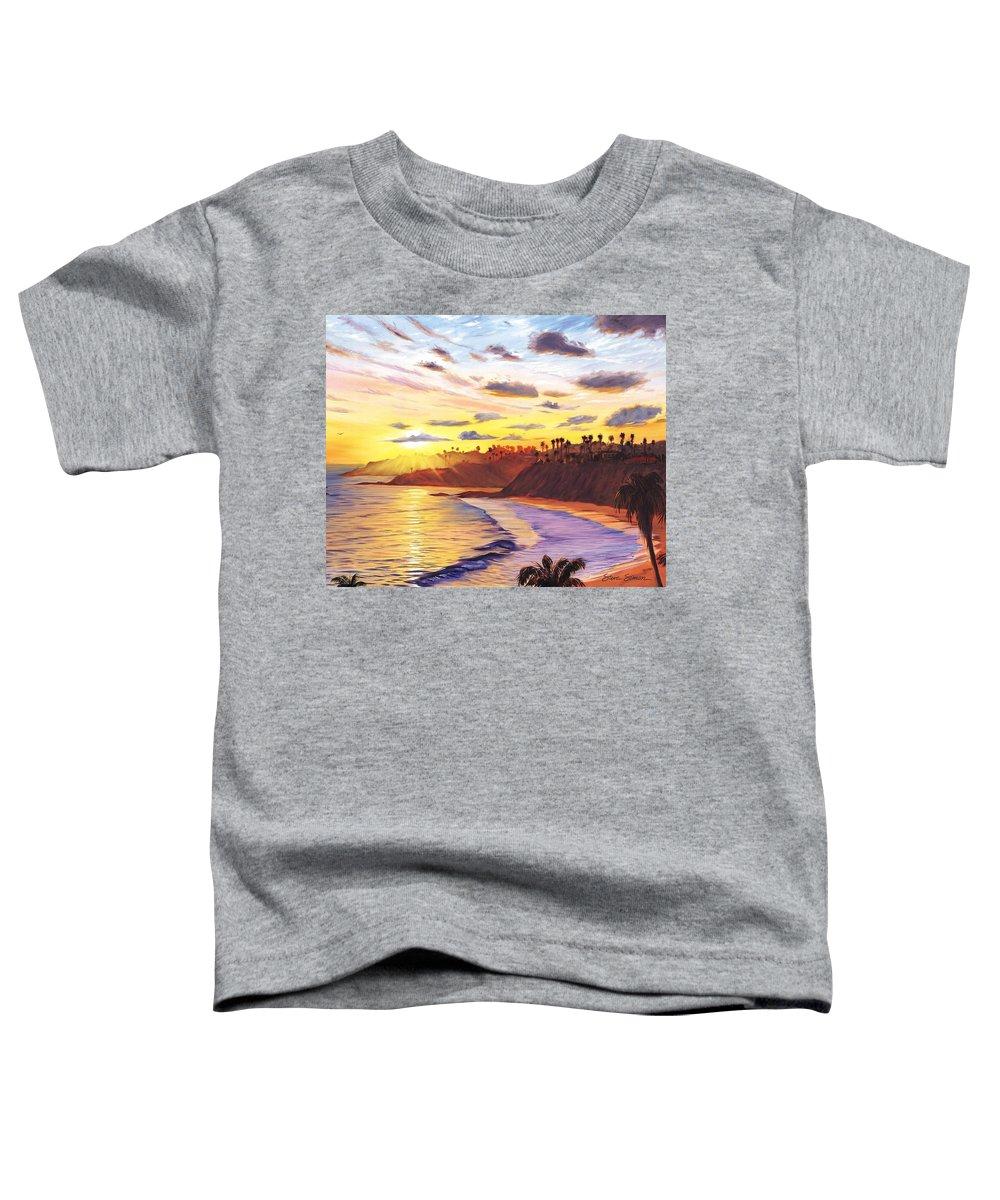 Laguna Beach Paintings Toddler T-Shirts
