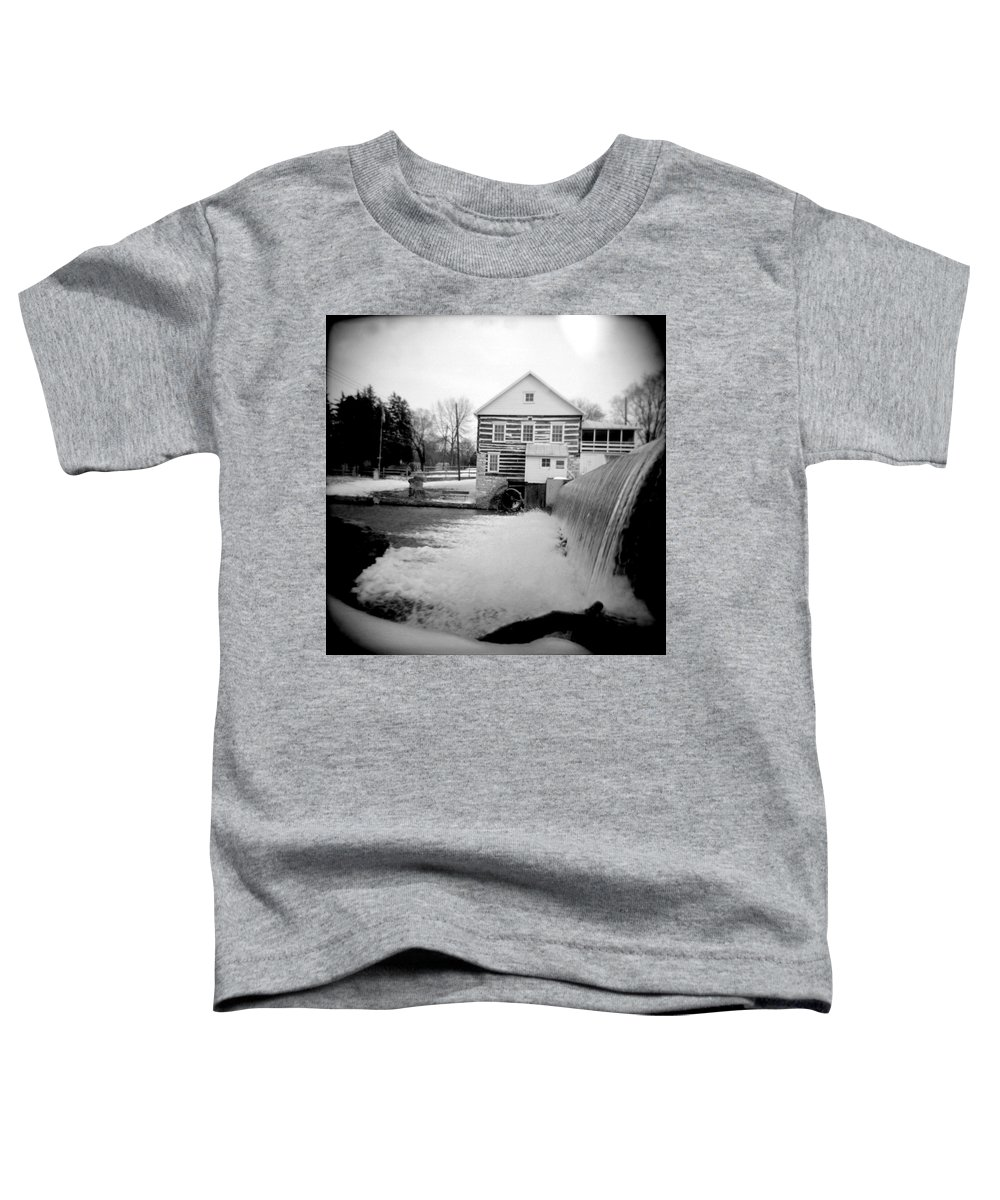 Photograph Toddler T-Shirt featuring the photograph Laughlin Mill by Jean Macaluso