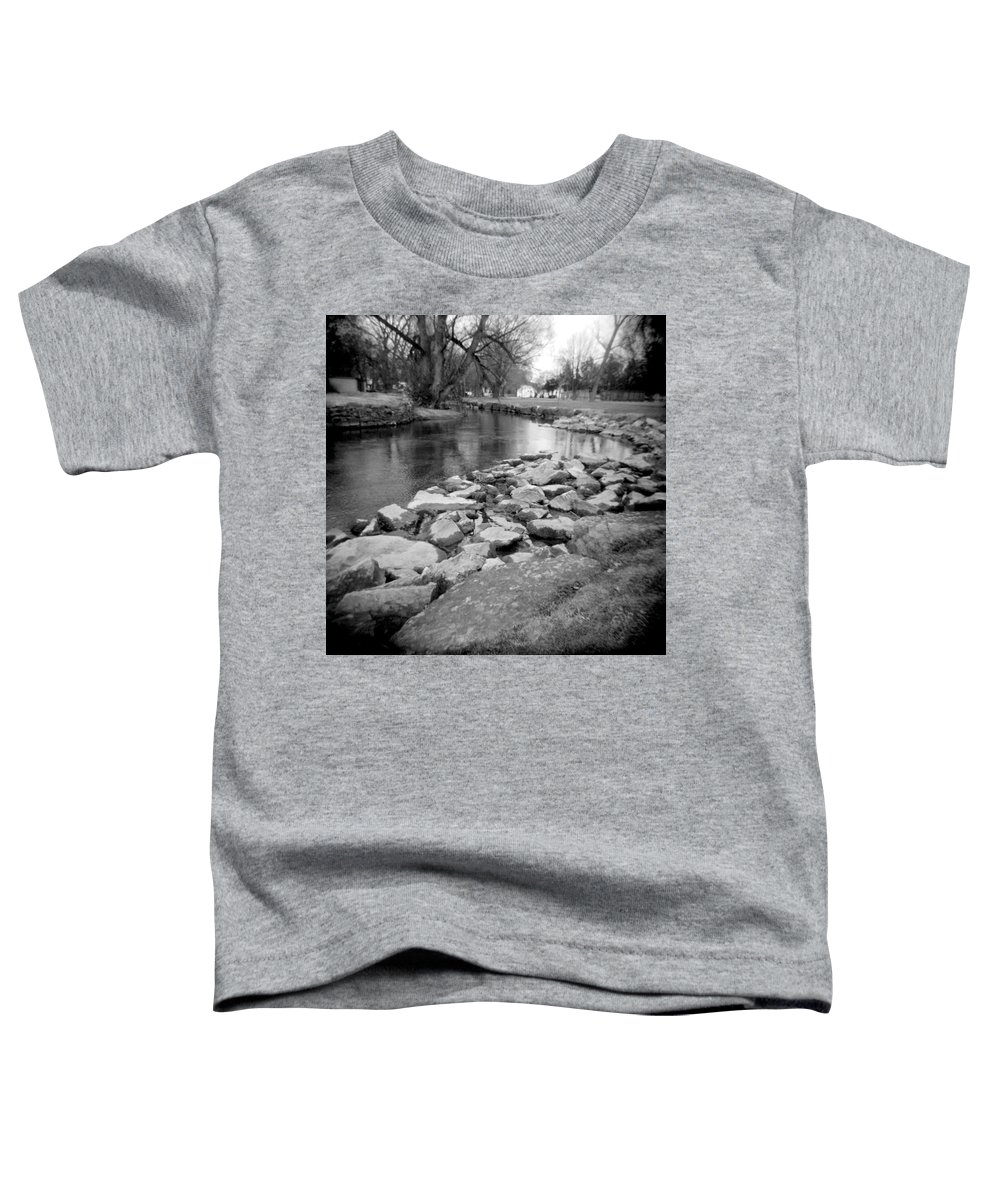 Photograph Toddler T-Shirt featuring the photograph Le Tort Spring Run by Jean Macaluso