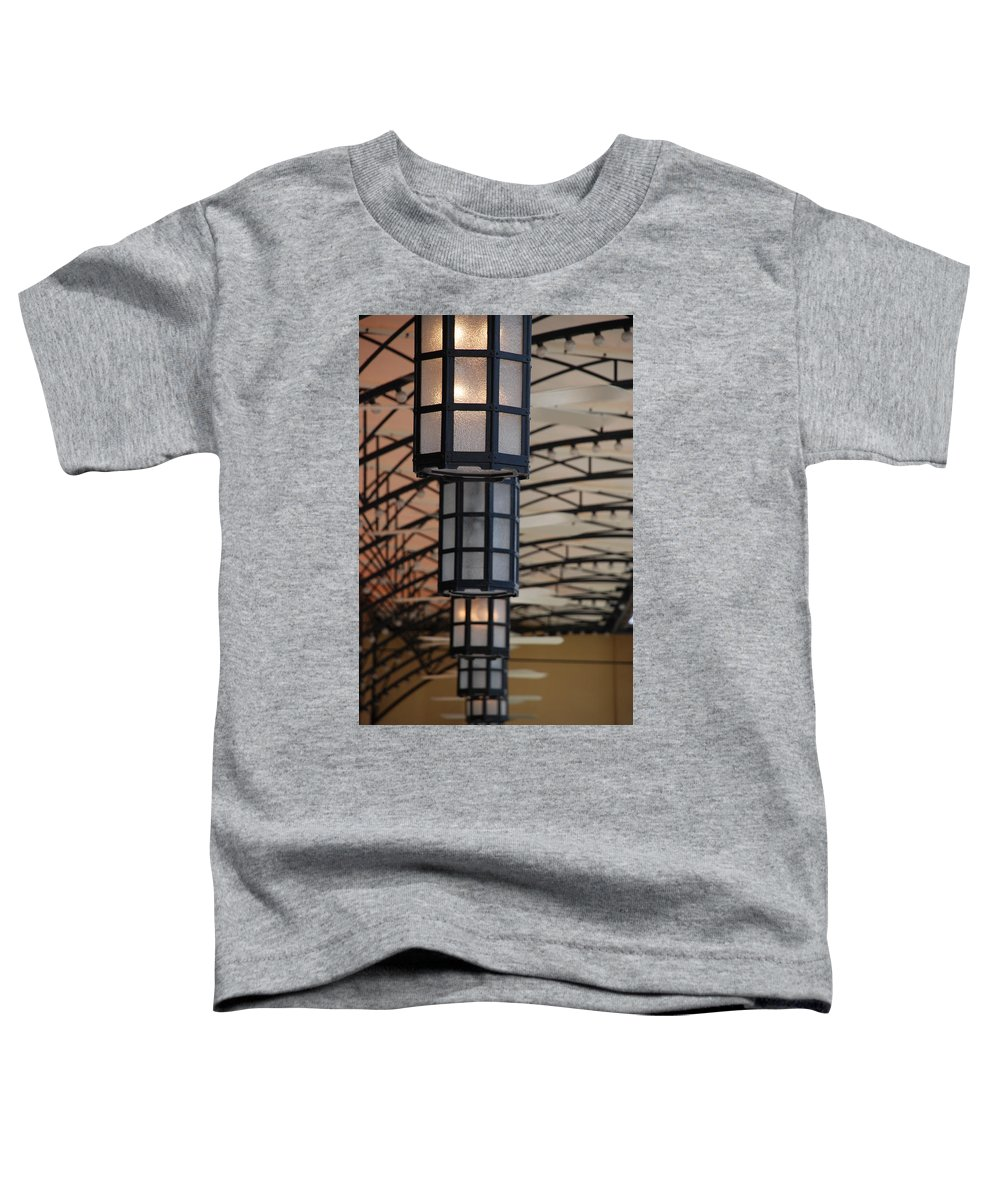 Architecture Toddler T-Shirt featuring the photograph Lights At City Place by Rob Hans