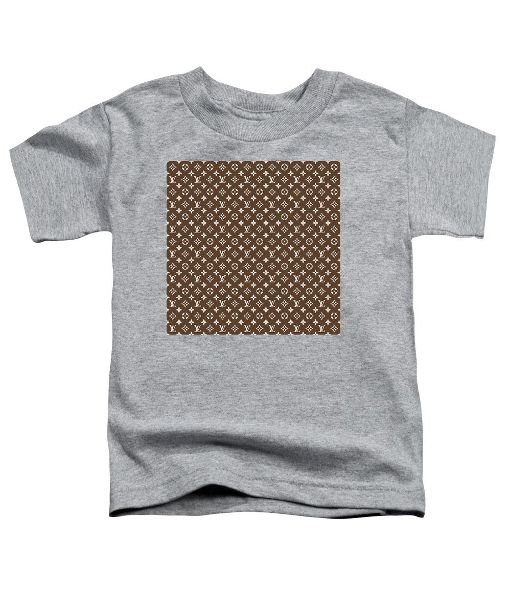 c5272550da66 Louis Vuitton Pattern - Lv Pattern 04 - Fashion And Lifestyle Toddler T- Shirt for Sale by TUSCAN Afternoon