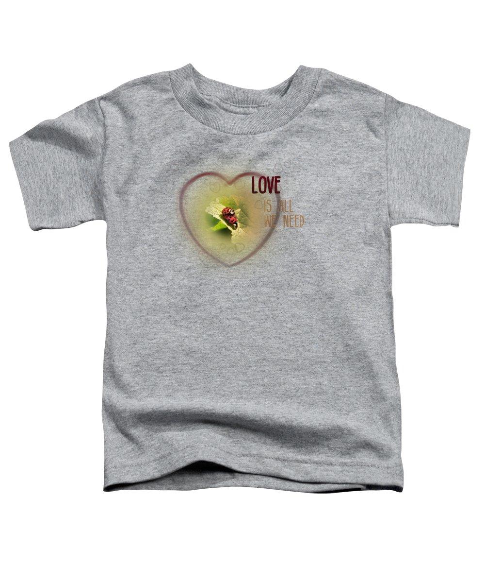 Ladybug Toddler T-Shirts