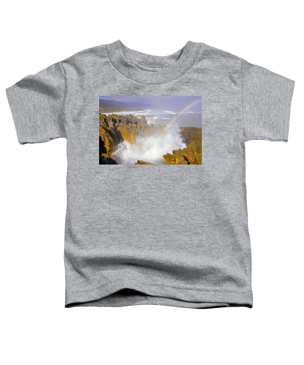 Paparoa Toddler T-Shirt featuring the photograph Making Miracles by Mike Dawson
