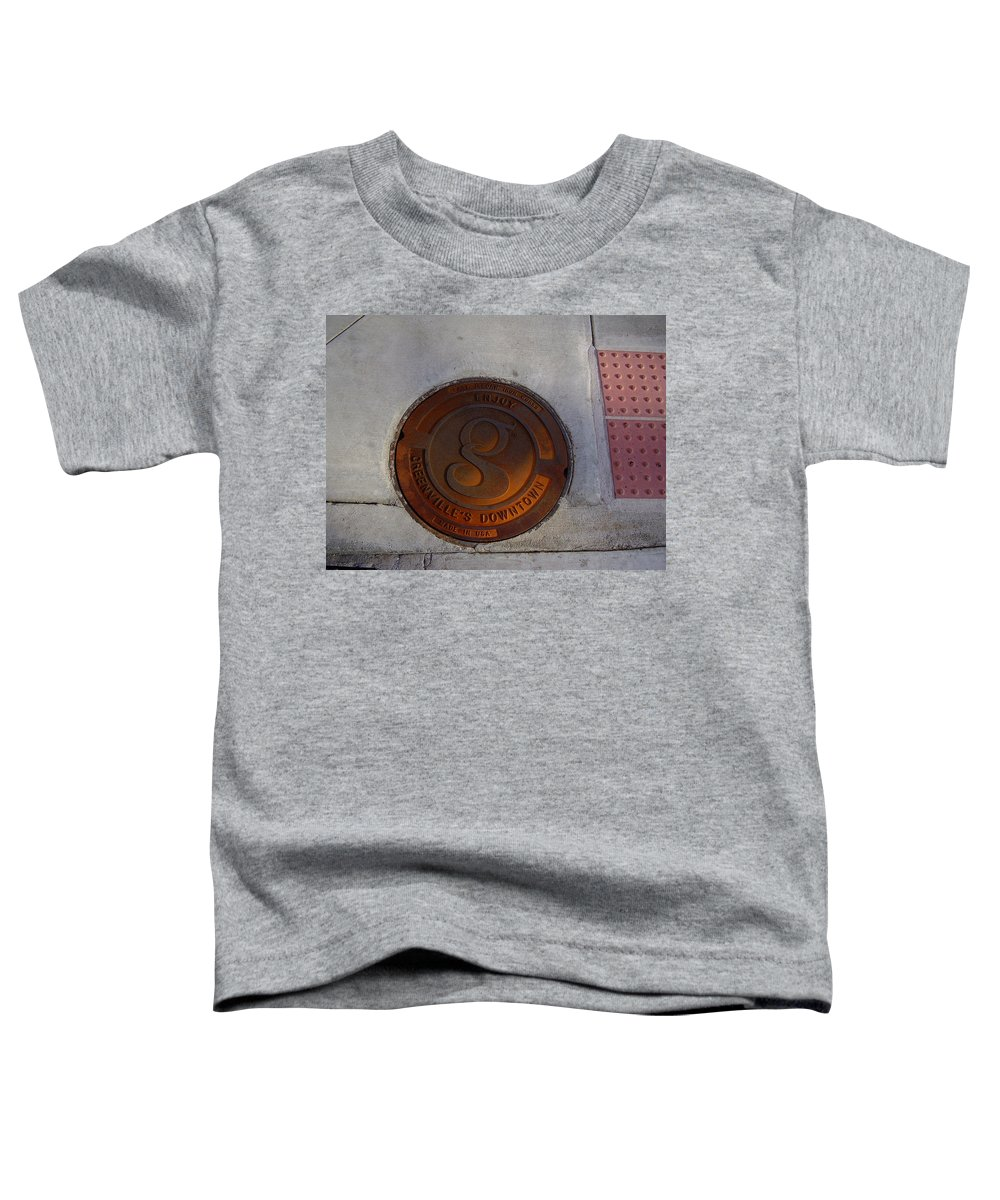Manhole Toddler T-Shirt featuring the photograph Manhole I by Flavia Westerwelle