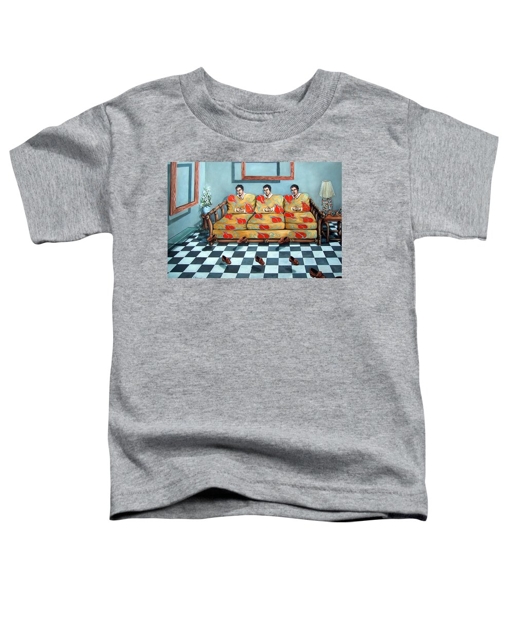 S Toddler T-Shirt featuring the painting Meditation by Valerie Vescovi