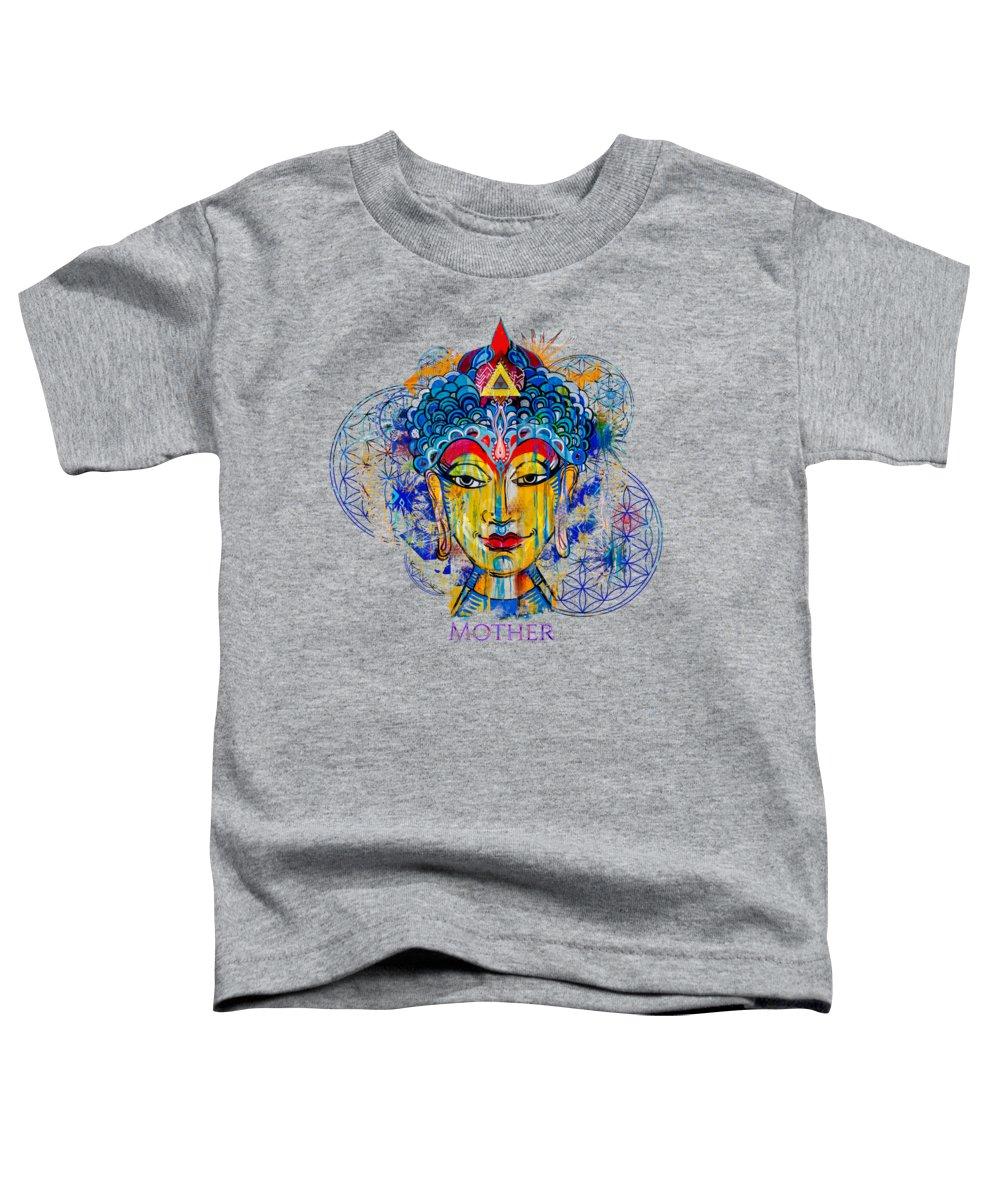 Buddha Mixed Media Toddler T-Shirts