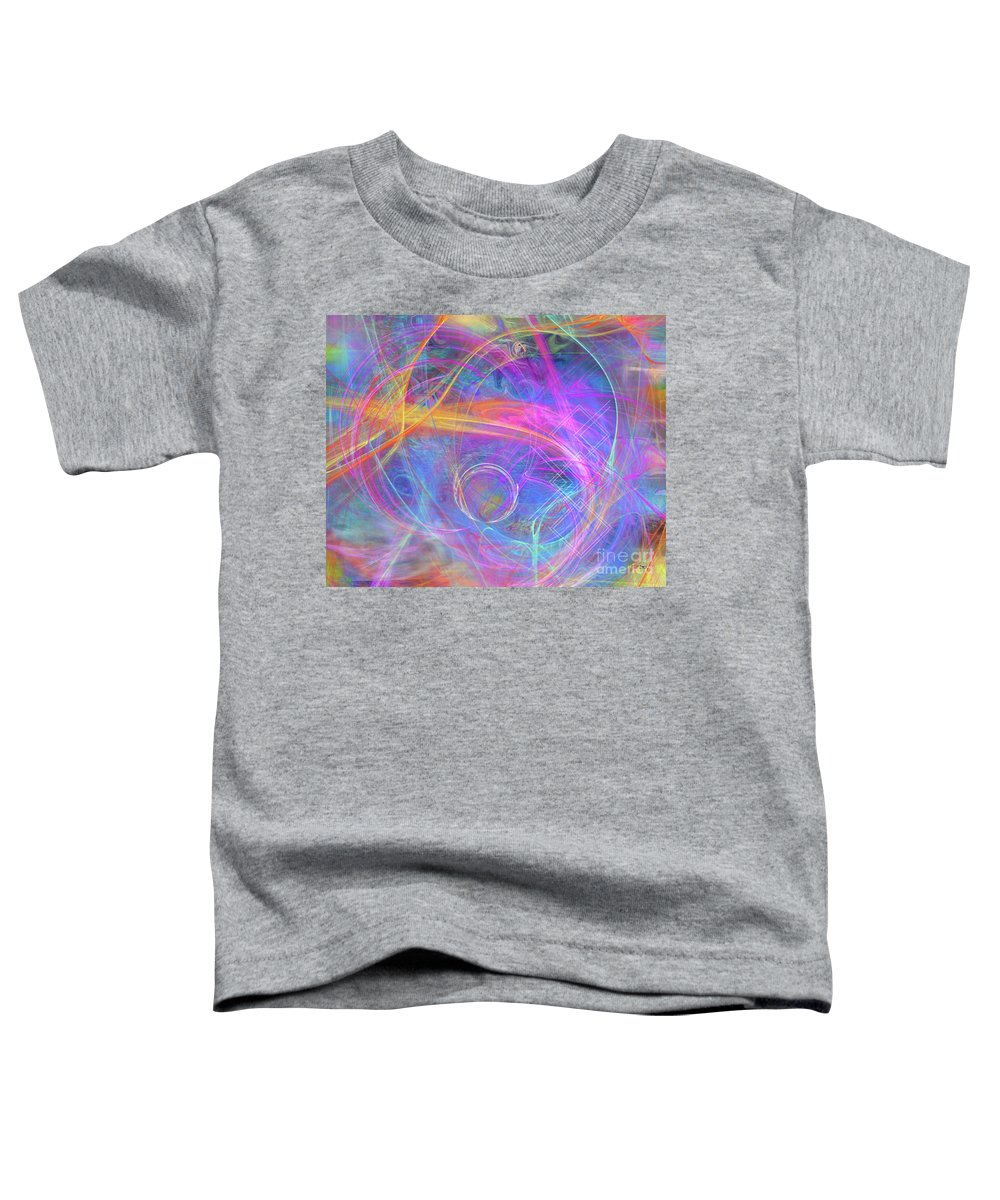 Mystic Beginning Toddler T-Shirt featuring the digital art Mystic Beginning by John Beck