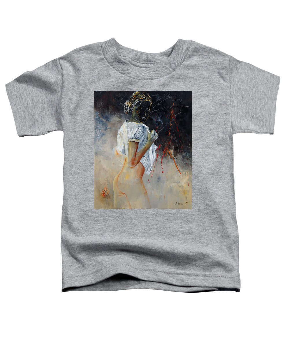 Nude Toddler T-Shirt featuring the painting Nude 560508 by Pol Ledent