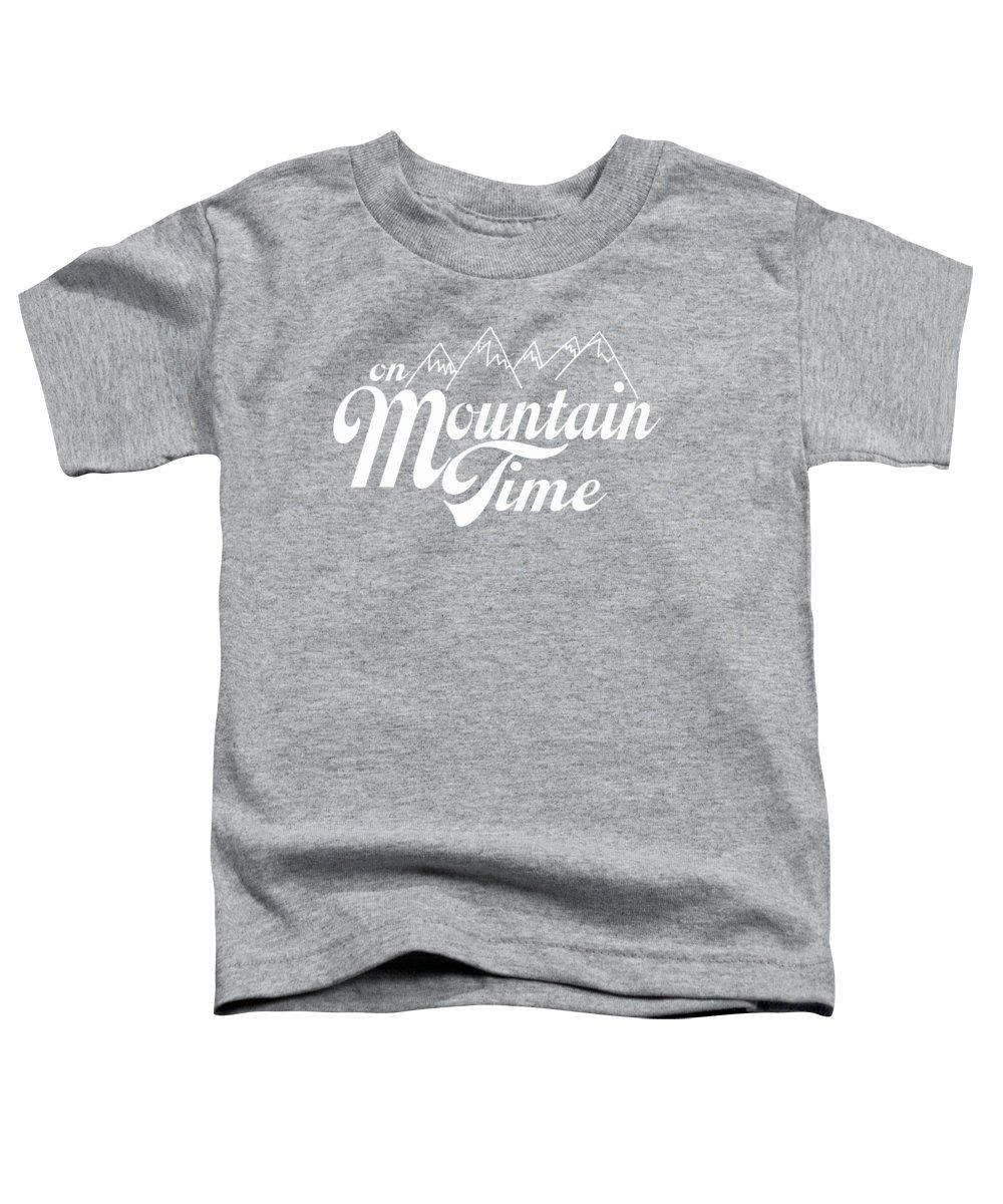 Mountains Toddler T-Shirts