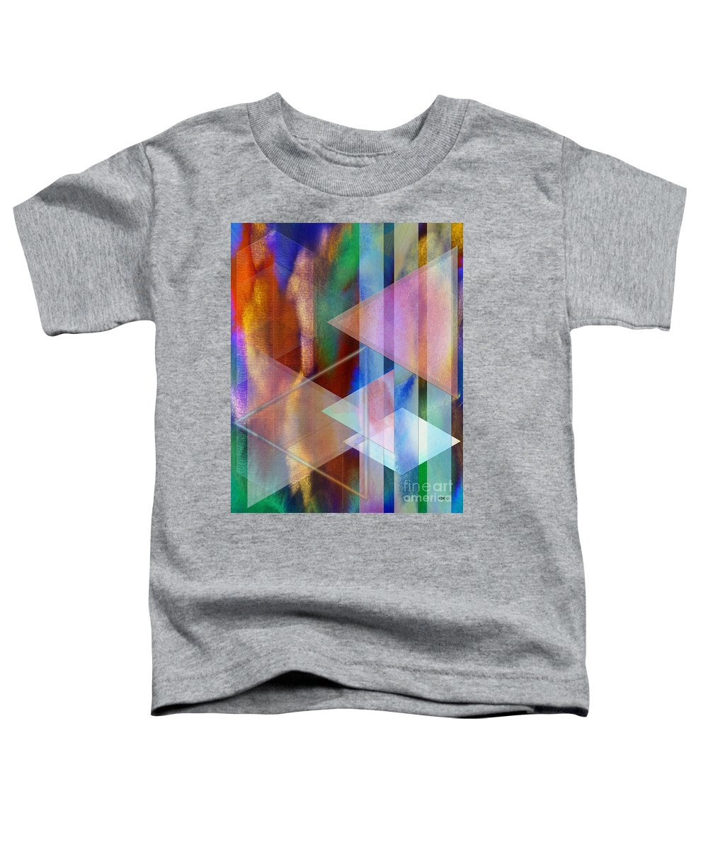 Pastoral Midnight Toddler T-Shirt featuring the digital art Pastoral Midnight by John Beck