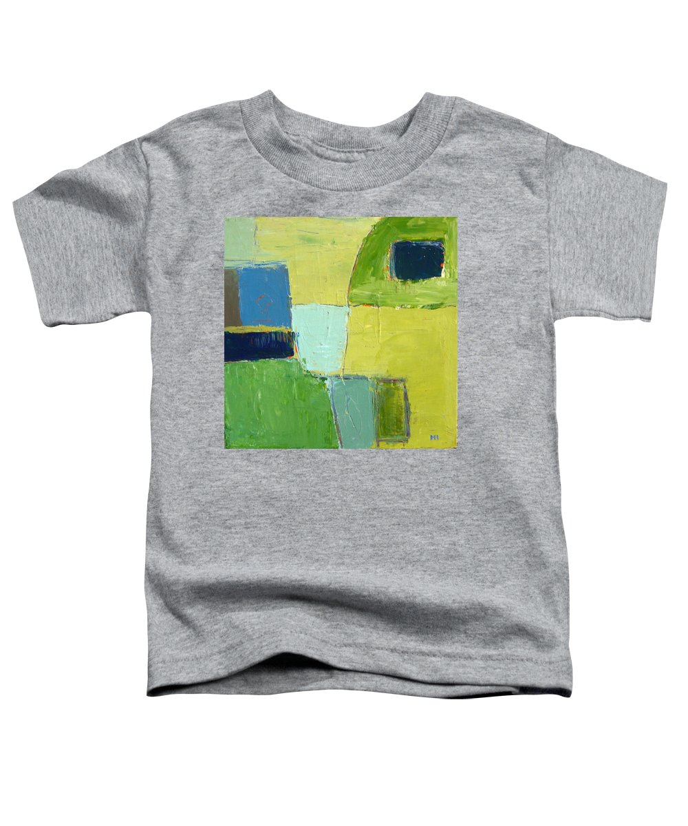 Abstract Toddler T-Shirt featuring the painting Peace 1 by Habib Ayat