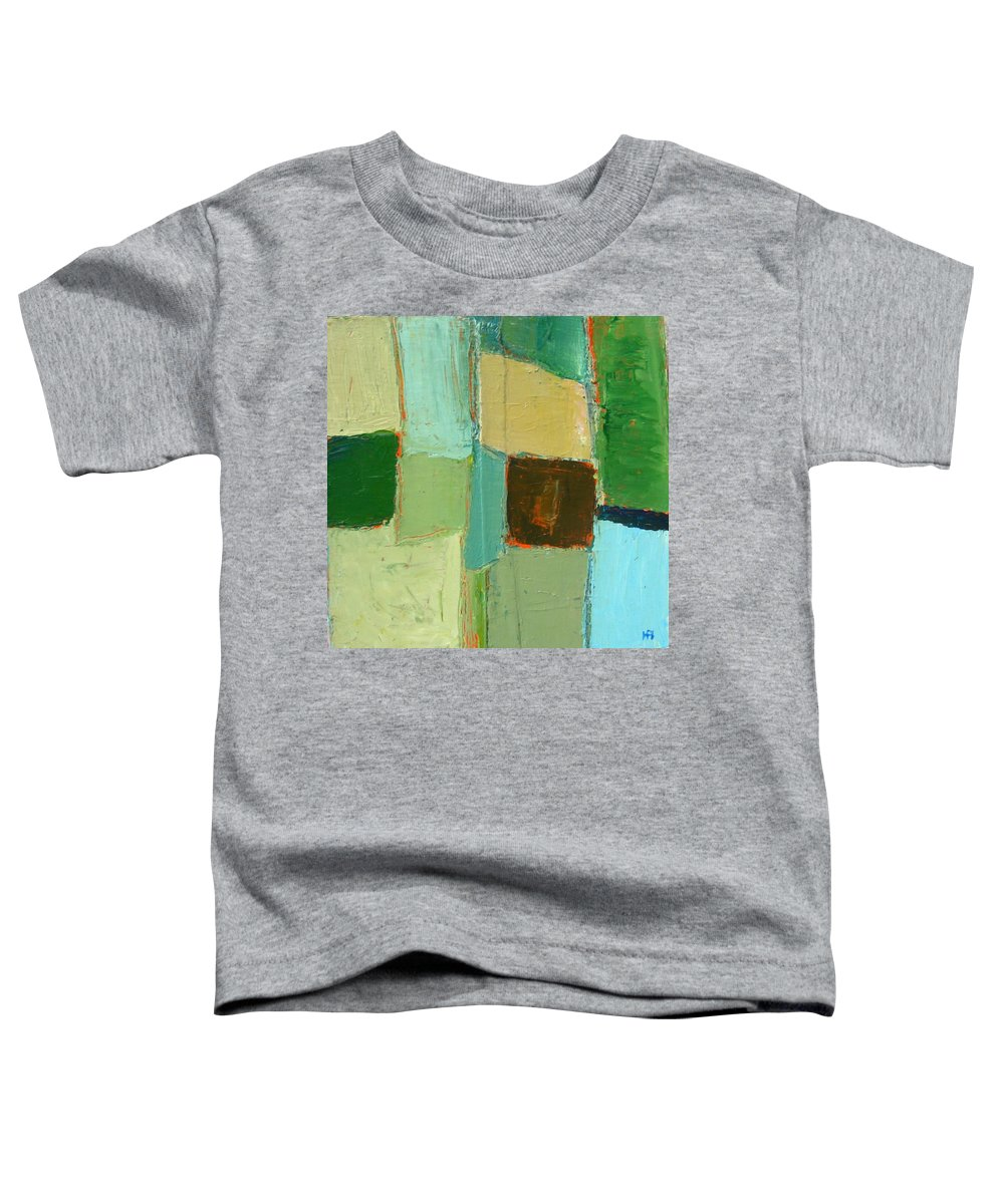 Toddler T-Shirt featuring the painting Peace 2 by Habib Ayat