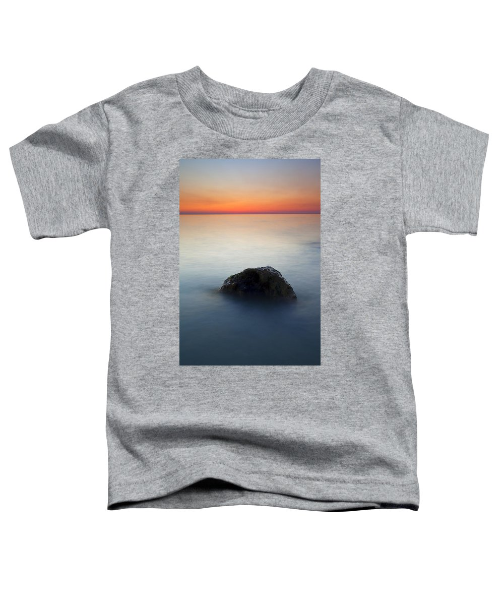 Rock Toddler T-Shirt featuring the photograph Peaceful Isolation by Mike Dawson