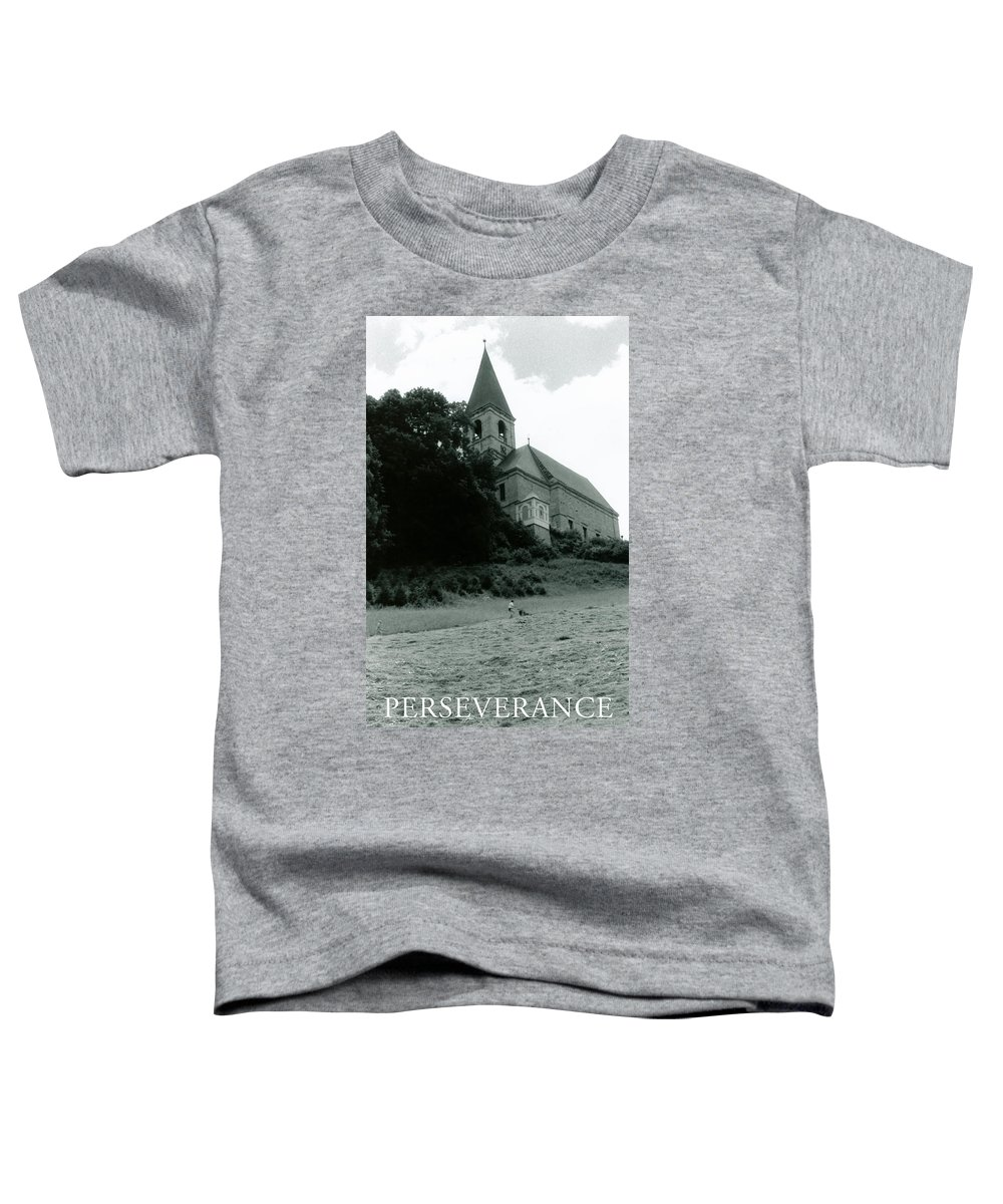 Church Toddler T-Shirt featuring the photograph Perseverance by Michelle Calkins