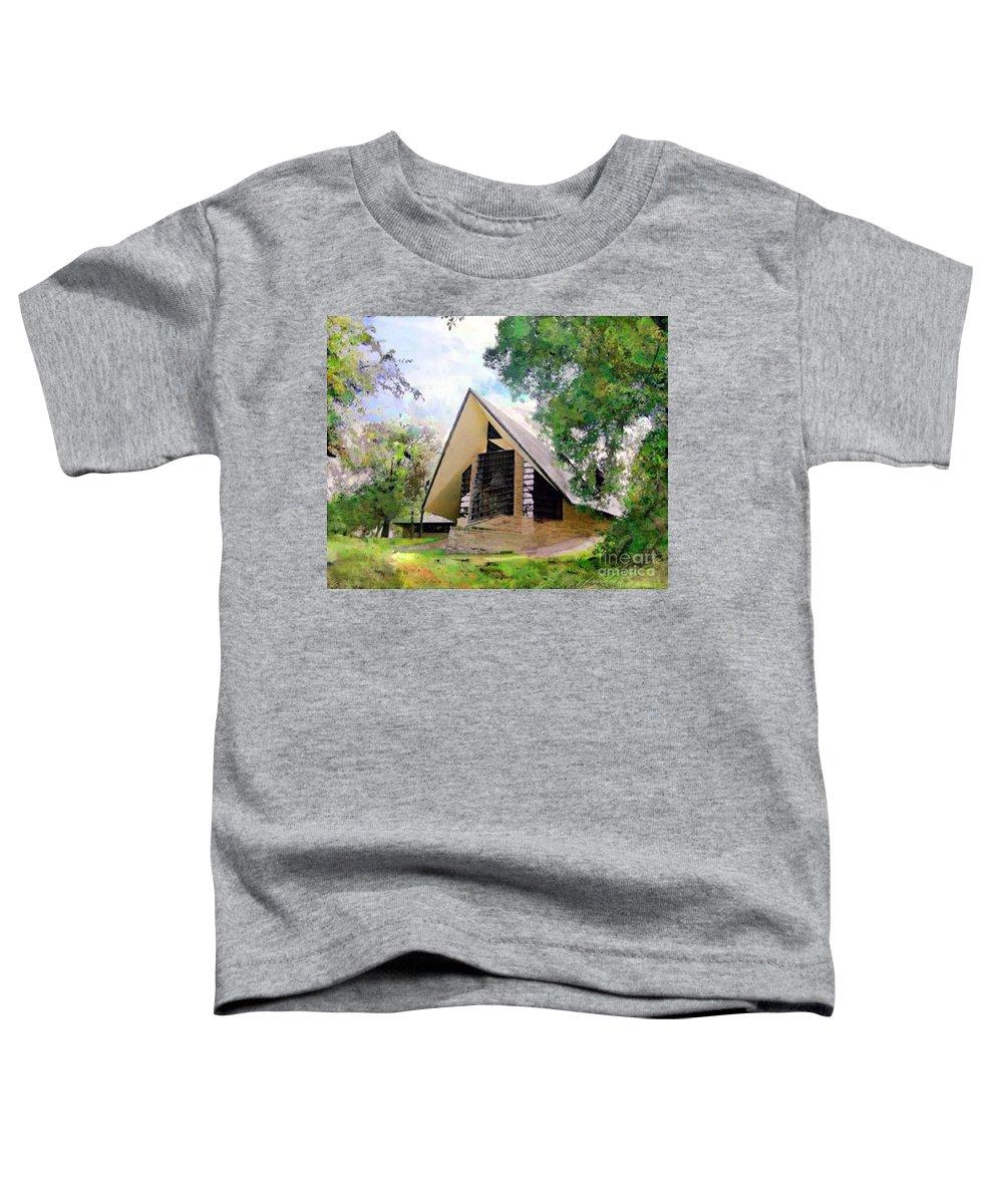 Praying Hands Toddler T-Shirt featuring the digital art Praying Hands by John Robert Beck