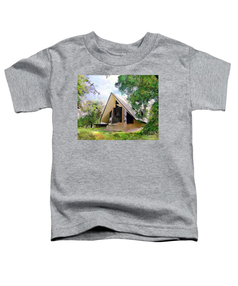Praying Hands Toddler T-Shirt featuring the digital art Praying Hands by John Beck