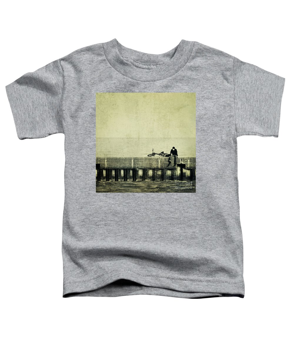 Man Toddler T-Shirt featuring the photograph Praying To A God I Dont Believe In by Dana DiPasquale