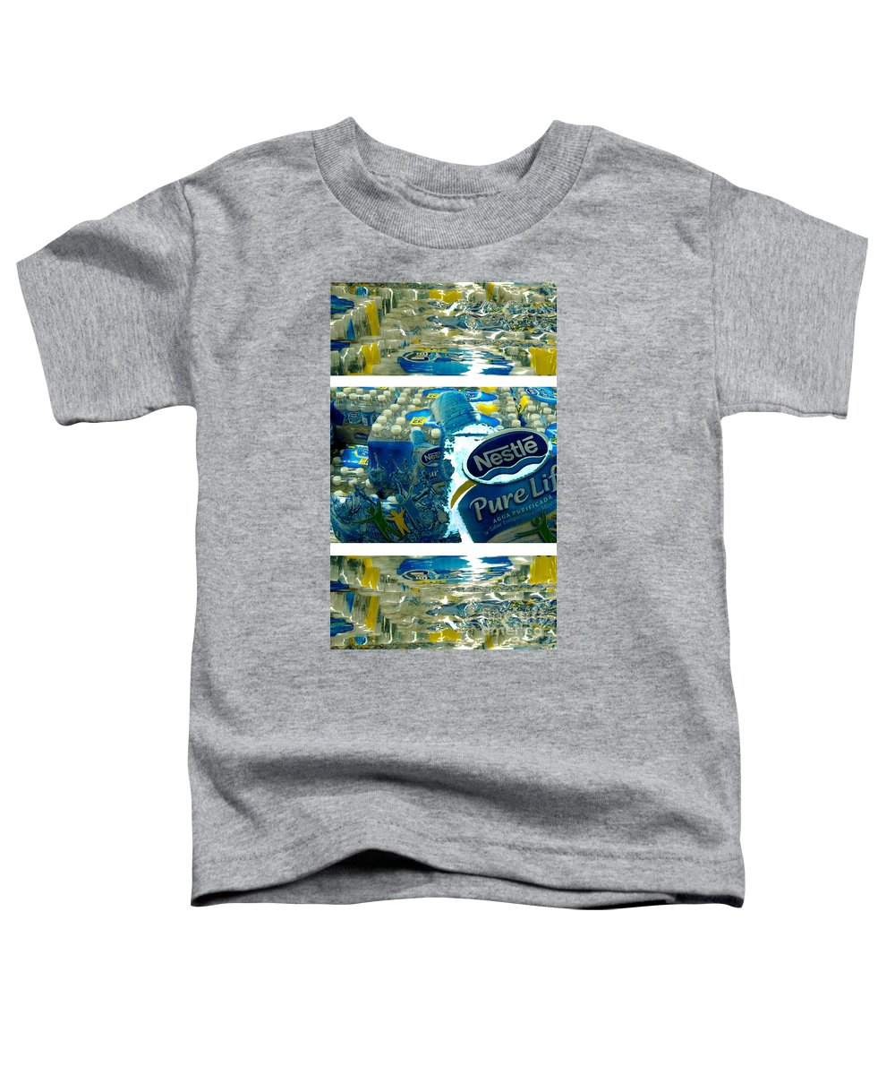 Water Toddler T-Shirt featuring the photograph Pure Life by Ze DaLuz
