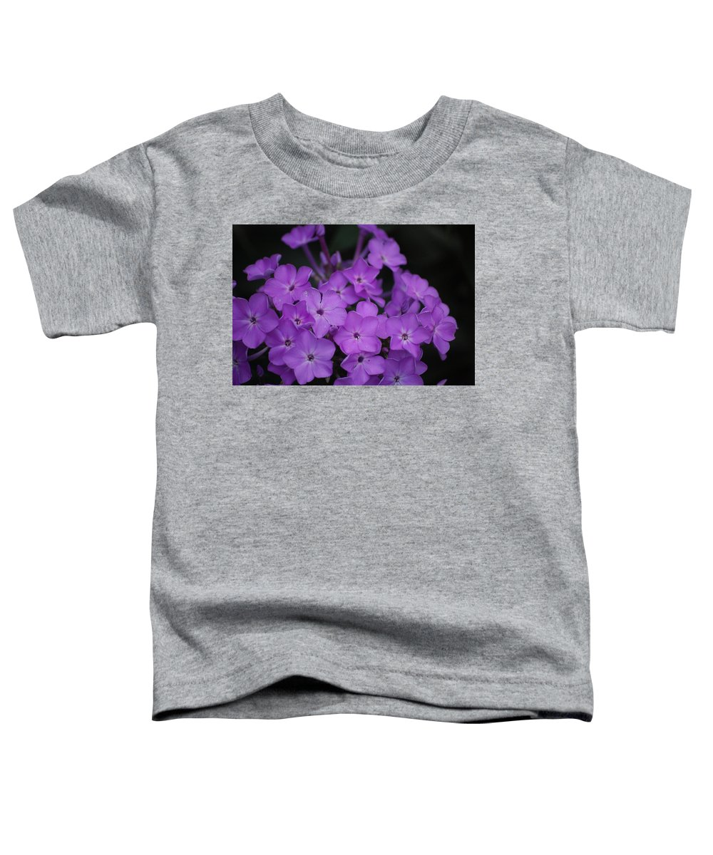 Digital Photo Toddler T-Shirt featuring the photograph Purple Blossoms by David Lane