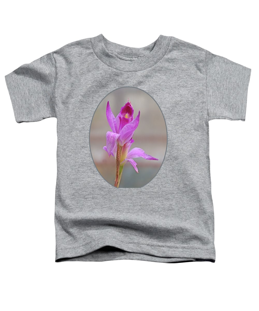 Orchid Toddler T-Shirt featuring the photograph Purple Delight by Gill Billington