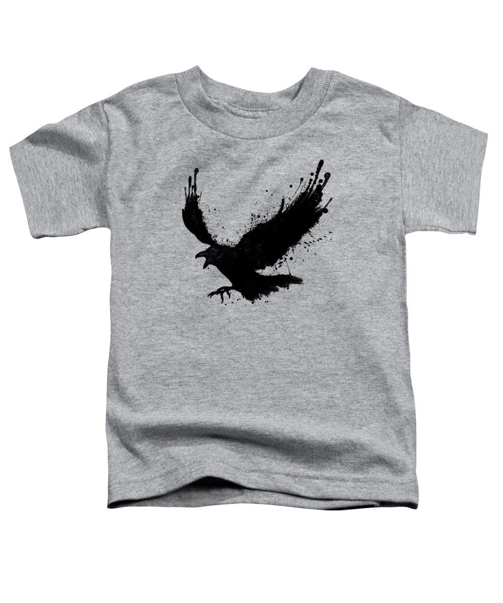 Crow Toddler T-Shirts